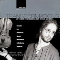 Transformations: 20th Century Works for Violin & Piano von Roman Mints