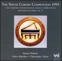 Van Cliburn Competition 1993 von Various Artists