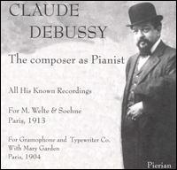 Claude Debussy: The Composer as Pianist von Claude Debussy