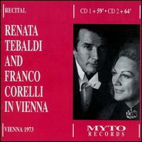 Tebaldi and Corelli in Vienna von Various Artists