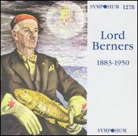 Music of Lord Berners von Various Artists