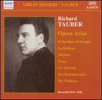 Richard Tauber: Opera Arias von Richard Tauber