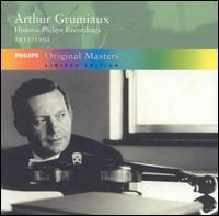 Historic Philips Recordings, 1953-1962 [Box Set] von Arthur Grumiaux