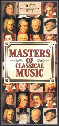 Masters of Classical Music (Box Set) von Various Artists