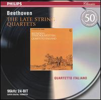 Beethoven: The Late String Quartets von Quartetto Italiano