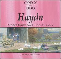 Haydn: String Quartet No. 1, No. 3, No. 5 von Various Artists