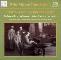 Welte-Mignon Piano Rolls, 1905-1927 von Various Artists
