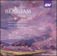 Lluís Benejam: Sonata for Violin and Piano; Sonata for Viola and Piano; Sonata for Cello and Piano von Various Artists