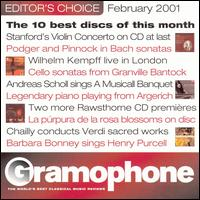 Gramophone Editor's Choice, February 2001 von Various Artists