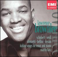 Italian Songs for Tenor and Piano von Lawrence Brownlee