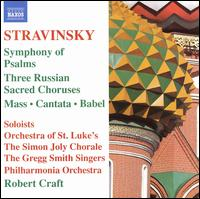 Stravinsky: Symphony of Psalms von Robert Craft