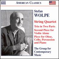 Stefan Wolpe: Chamber Music von Columbia University Group for Contemporary Music