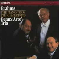 Brahms: The Piano Trios von Beaux Arts Trio