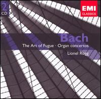 Bach: The Art of Fugue; Organ Concertos von Lionel Rogg
