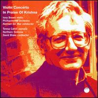 David Blake: Violin Concerto; In Praise of Krishna von Various Artists