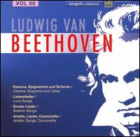 Beethoven: Complete Works, Vol. 68 von Various Artists
