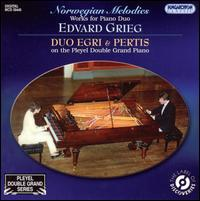 Norwegian Melodies: Works for Piano Duo by Edvard Grieg von Duo Egri & Pertis