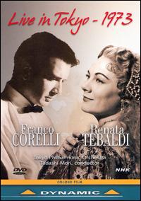 Franco Corelli & Renata Tebaldi: Live in Tokyo - 1973 [DVD Video] von Various Artists