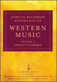 Norton Recorded Anthology of Western Music, Vol. 1: Ancient to Baroque [Box Set] von Various Artists