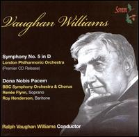 Vaughan Williams: Symphony No. 5; Dona Nobis Pacem von Ralph Vaughan Williams