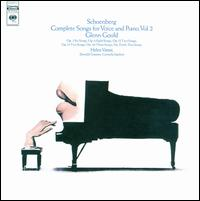 Schoenberg: Complete Songs for Voice and Piano, Vol. 2 von Glenn Gould