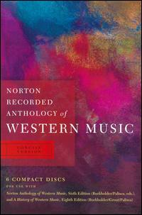 Norton Recorded Anthology of Western Music: Concise Version von Various Artists