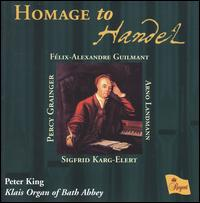 Homage to Handel von Peter King