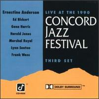 Live at the 1990 Concord Jazz Festival: Third Set von Ernestine Anderson