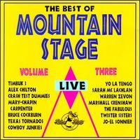 Best of Mountain Stage Live, Vol. 3 von Various Artists