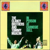 In Person at Carnegie Hall von Clancy Brothers