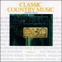 Smithsonian Collection of Classic Country Music, Vol. 1 von Various Artists