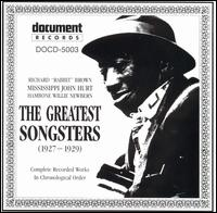 Greatest Songsters: Complete Works (1927-1929) von Richard Rabbit Brown