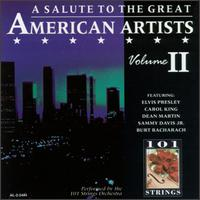 Salute to the Great American Artists, Vol. 2 [Alshire #1] von 101 Strings Orchestra
