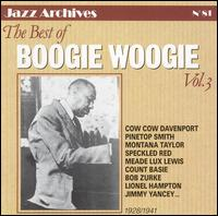 Best of Boogie Woogie, Vol. 3: 1925-1941 von Various Artists