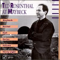 Maybeck Recital Hall Series, Vol. 38 von Ted Rosenthal