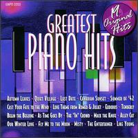 Greatest Piano Hits von Various Artists