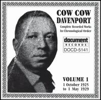 "Complete Recorded Works, Vol. 1 von Charles ""Cow Cow"" Davenport"