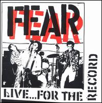 Live...For the Record von Fear
