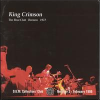 Beat Club, Bremen, 1972 von King Crimson