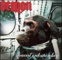 Spaced Out Monkey von Demon