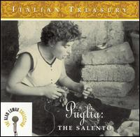 Italian Treasury: Puglia the Salento von Alan Lomax