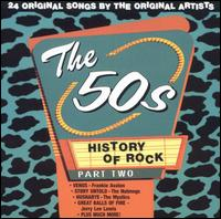 History of Rock: The 50s, Pt. 2 von Various Artists