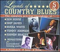 Legends of Country Blues von Various Artists