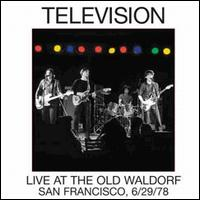 Live at the Old Waldorf von Television