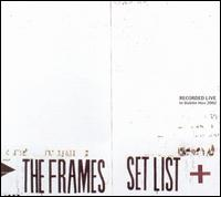 Set List: Live in Dublin von The Frames