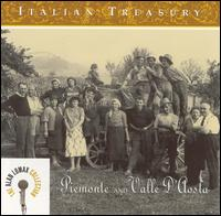 Italian Treasury: Piemonte and Valle d'Aosta von Alan Lomax