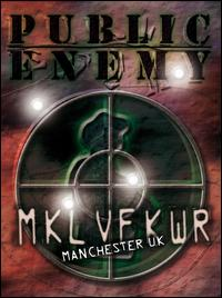 Revolverlution Tour 2003 Manchester von Public Enemy