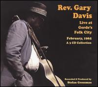 Live at Gerdes Folk City 1962 von Rev. Gary Davis